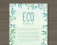 Ecological Template II | Designed for Freepik
