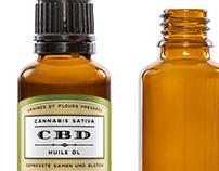 Cannabis sativa packagings