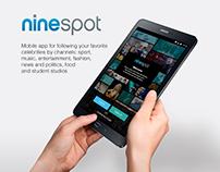Nine Spot — app for following favourite video channels