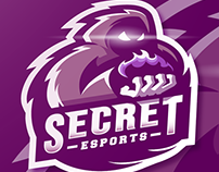 Secret Esports Singapore Mascot Logo Design