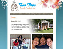 New Hope Youth & Family Services Website