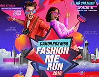 Canon FASHION ME RUN Vietnam 2018