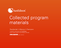 Program Launch / SunEdison Residential Solar