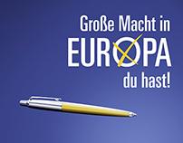 Plakatwettbewerb Europawahl 2014