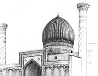 Silk Road Illustrations