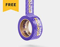 Free Duct Tape Mockup Set