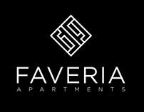 FAVERIA Apartments / Visual identity