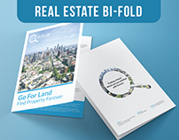 Go For Land - Bi Fold Brochure Design
