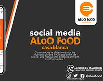 social media aloo food