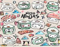 SUSHI NINJAS