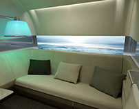 "ZODIAC AEROSPACE - ""HALO"" first class suite"