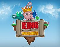 King of Wildlings Cartoon Logo