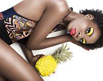 """Fashion Fruit"" Photography + Graphic Design"