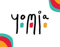 Yomia - Brand Identity
