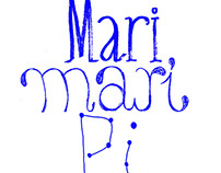 Mari Mari Pi . Visual Identity and prints, tote bags...