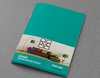 Interior  Catalogs Brochure Template