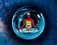 "My Free Tibet ""My work inspired by Dalai Lama"""