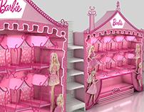 Barbie Shelf in Shlef