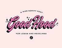 GOODHOOD - FREE FONT