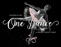 FREE SCRIPT FONT One Dance