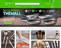 Diseño web e-commerce FACUSA PERÚ S.A