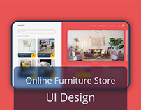 Concept Online Furniture Store - UI Design