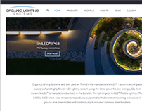 Organic Lighting Systems website