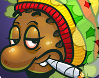 Game Icon redesign for Ganja Farmer