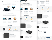 Freebie website PSD
