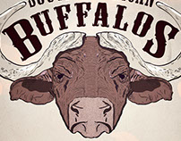 South American Buffalos Poster