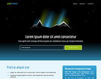 HTML5 Landing Page