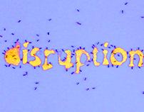 Experimental Typography: disruption