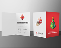 Print Design | EEDAR Holiday Card