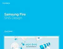 SamsungFire SNS Design