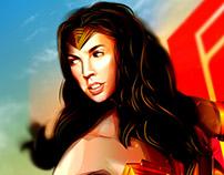 Wonder Woman Alternative Movie Poster