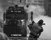 Disturbios Universidad Pedagógica 10 de noviembre