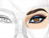 Work in Progress: Painting Eye