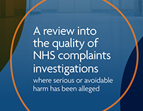 Quality of NHS investigations report and infographics