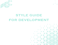 Style guide for development
