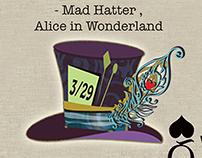 Mad Hatter Fund raiser for School
