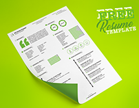 Free Resume Template | Cool, Trendy, Top notch