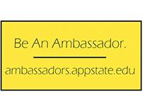 Appalachian Student Ambassador Membership Ideas