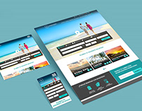Responsive Lomas Travel 2018 website
