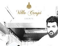 Villa Crespi Events - Concept app