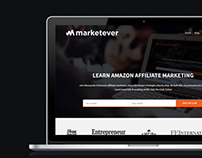 Marketever Homepage Redesign
