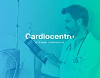 Cardiocentro | UI/UX design