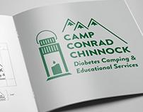Camp Conrad Chinnock Branding