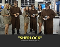 "Atomicdust/Elsevier: MEDai ""Sherlock"" Trade Show Items"