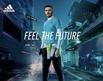 adidas x David Beckham /X9000 L4平面kv拍摄