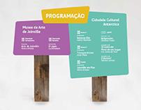 Signaling | Sinalização Complexo Cultural Joinville